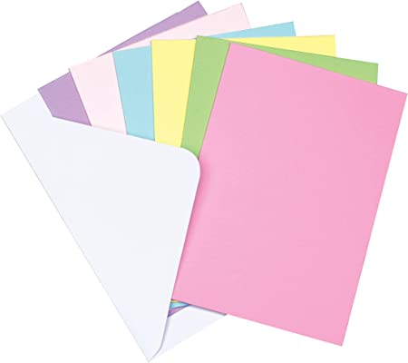 Baker Ross Tarjetas de felicitación de colores que los niños pueden decorar con amor para el Día de la Madre o San Valentín (pack de 12).: Amazon.es: Hogar