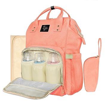 Amazon.com: Todo en Uno multifunción mochila para pañales ...