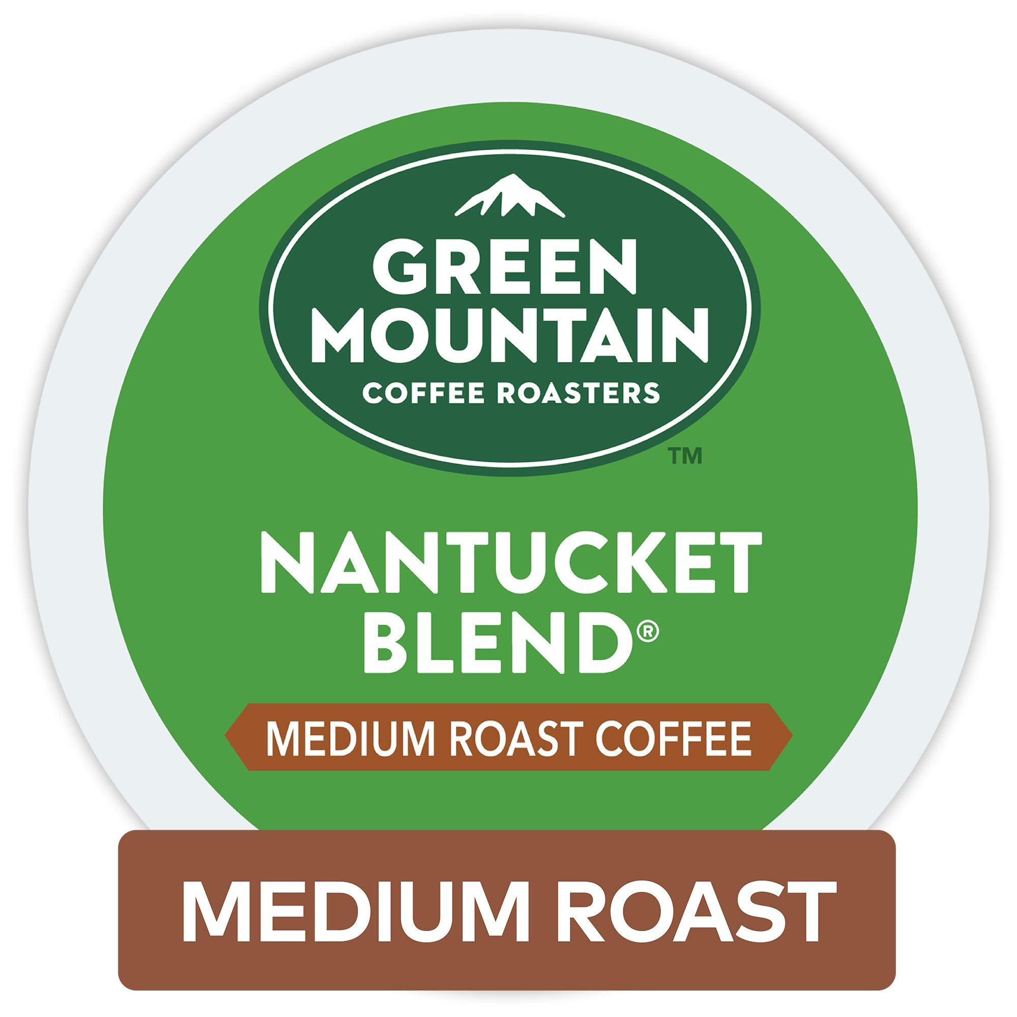 Green Mountain Coffee Roasters Nantucket Blend, Keurig Single-Serve K-Cup Pods, Medium Roast Coffee, 96 Count (Packaging May Vary)
