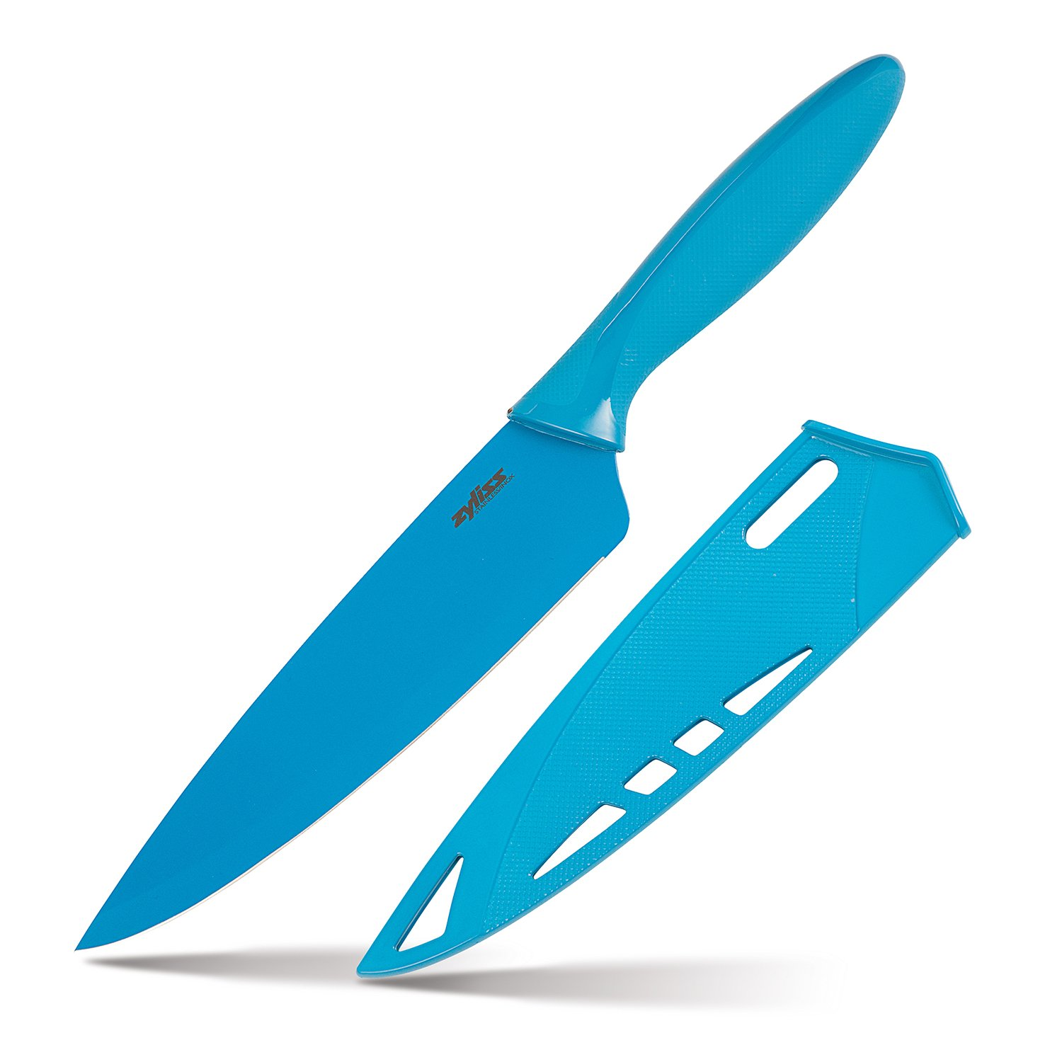 Amazon.com: ZYLISS Chef\'s Knife with Sheath Cover, 7.5-Inch Non ...