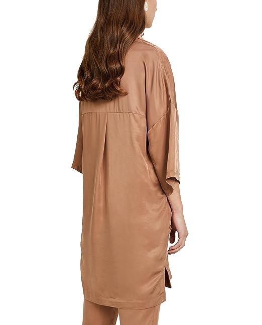 c0abb15417 Bimba y Lola - Vestido - para mujer Marrón marrón Small  Amazon.es