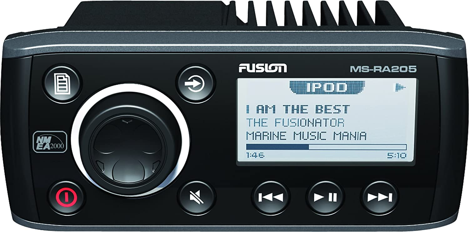 71BsC1gv8BL._SL1500_ amazon com fusion ms ra205 marine am fm aux usb and ipod iphone  at soozxer.org