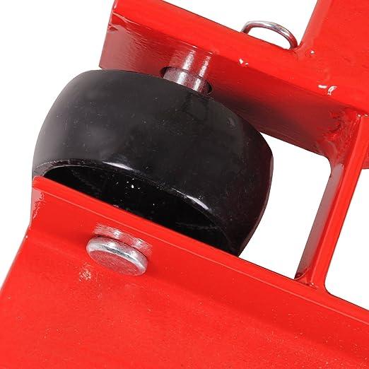 Heavy Duty elevador hidráulico de tractor cortacésped ATV Quad Garaje Taller Jack soporte: Amazon.es: Jardín