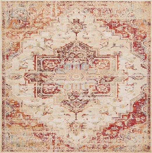 Luxe Weavers Ivory 9×12 Oriental Area Rug