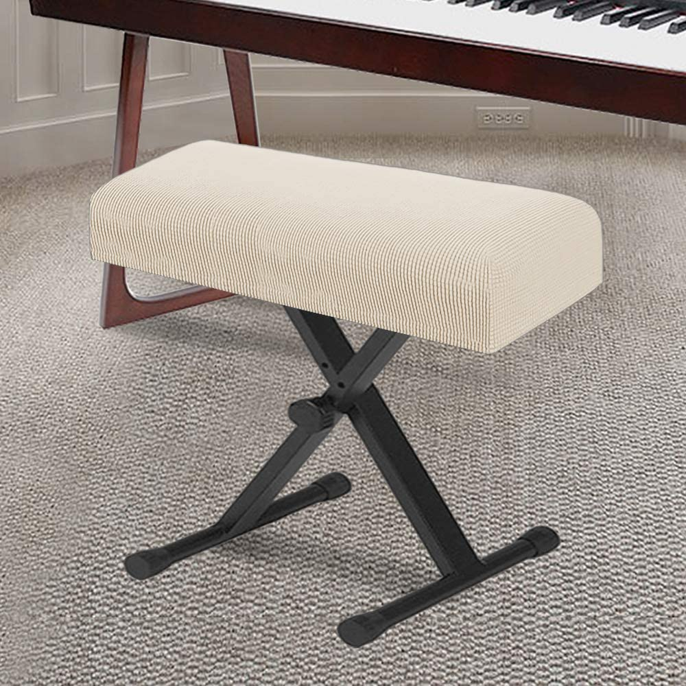 Pleuche Piano Stool Chair Bench Cover Home,On In//Outdoor Stage Dust Cover