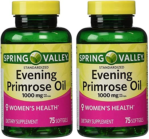 Spring Valley Evening Primrose Oil