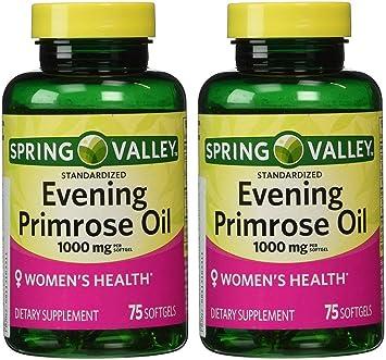 Amazon.com: Spring Valley - Aceite de Primrose por la noche ...