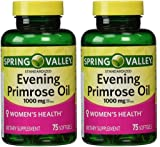 Spring Valley - Evening Primrose Oil 1000 mg,Twin
