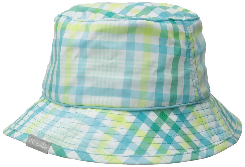 adfd35b6ce449 Columbia Women s Bahama Bucket Hat CL9965 Green Geyser Plaid Size S M   Amazon.co.uk  Sports   Outdoors
