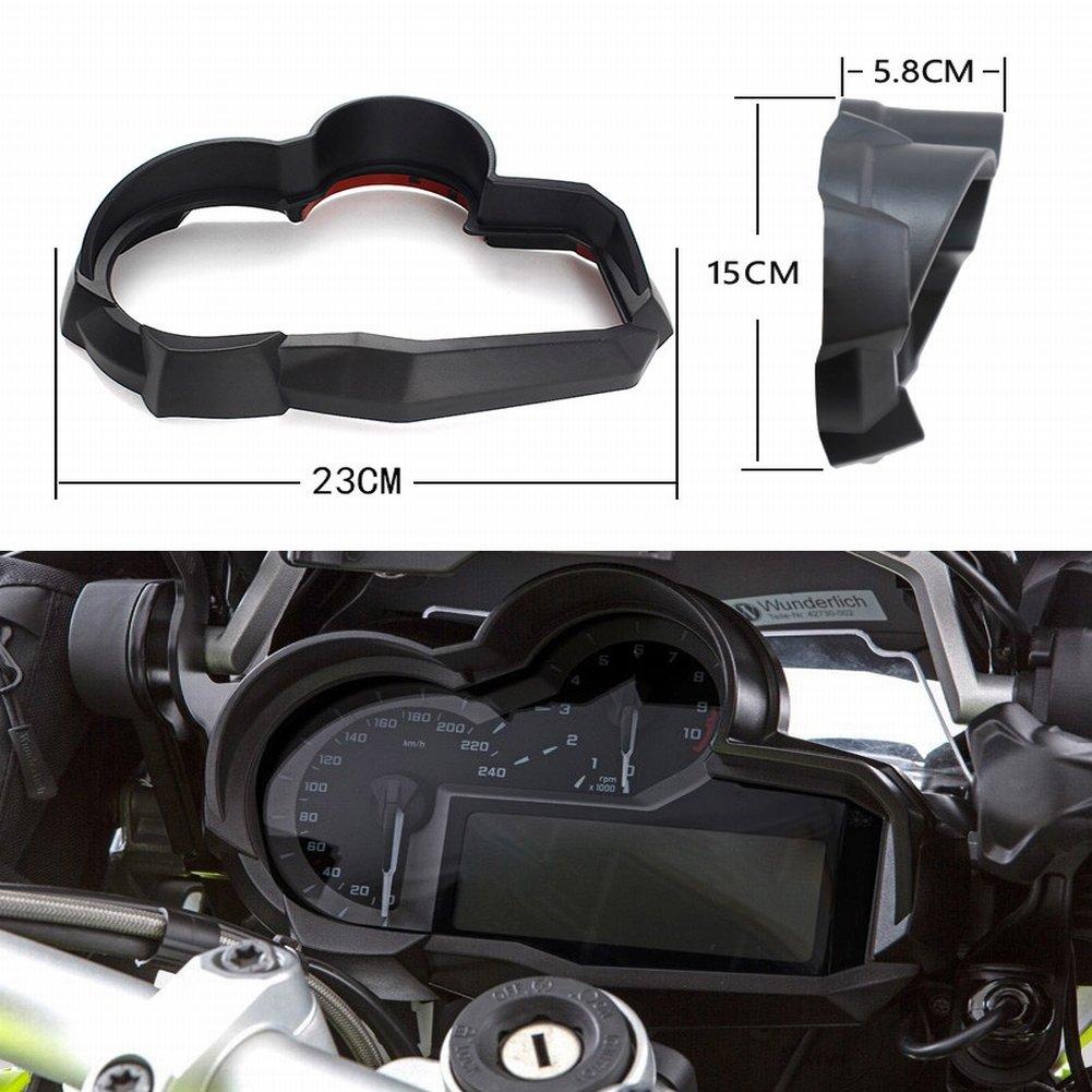 2018/BMW R1200GS LC 2015/2016/2017 XX ecommerce Motorrad Speedo Messger/ät Tachometer Uhr Schutzh/ülle f/ür 2014