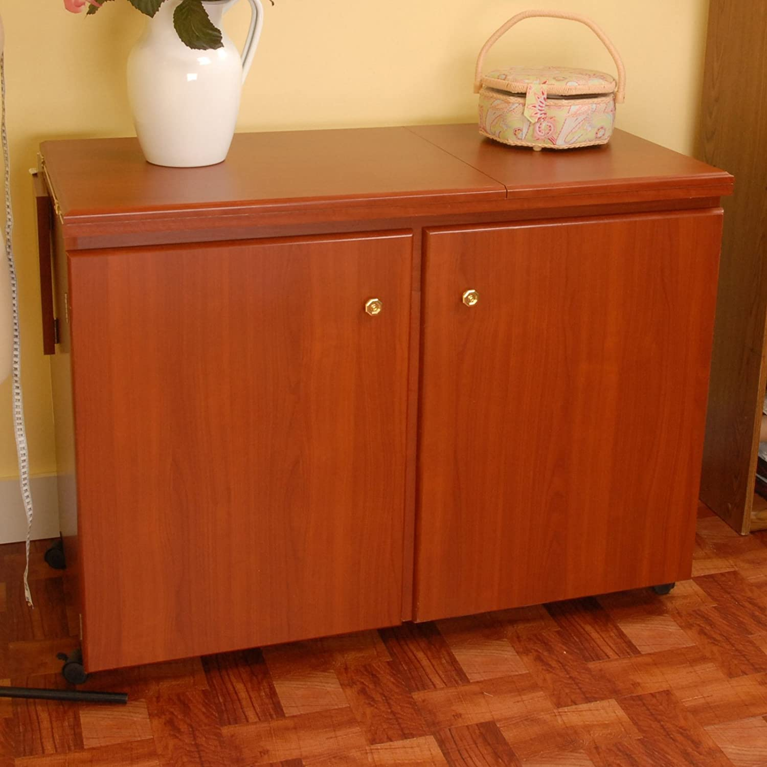 Tailormade Sewing Cabinet Shop Amazoncom Sewing Cabinets