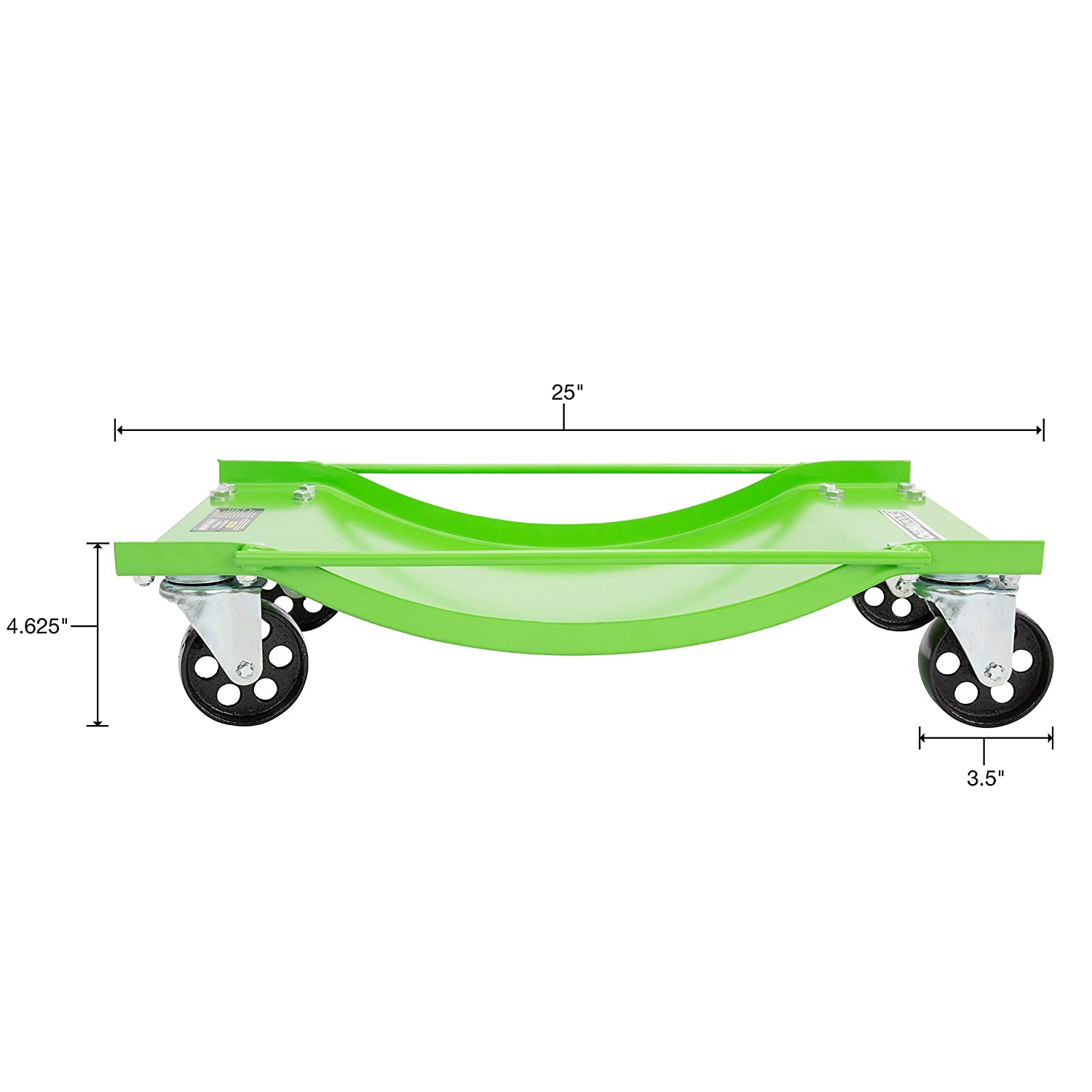 Pair OEMTOOLS 24857 Vehicle Dolly 43102 Ton Capacity