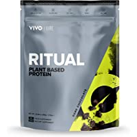 Vivo Life Ritual - Polvo de proteínas naturales vegetales (Sabor Chocolate)
