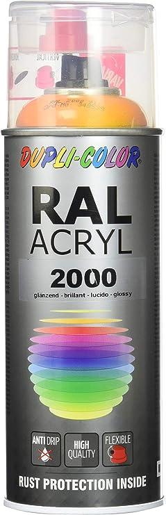 Dupli Color 349539 Ral Acryl Spray 2000 400 Ml Gelb Orange Glanz Auto