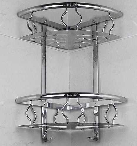 Libina Stainless Steel Baño Organizador Acero Inoxidable ...