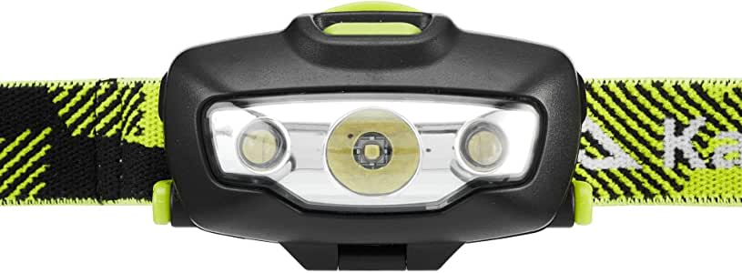 Kathmandu Raven 100 Lightweight Compact Versatile Camping Hiking Head Torch v2 Icon Green/Black ONE