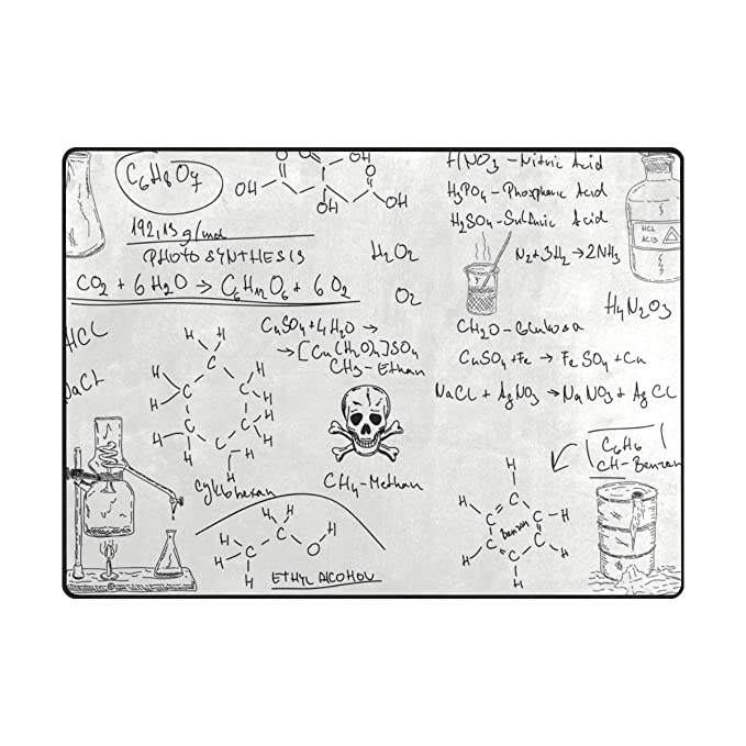 Amazon.com: FAJRO Chemical Formula Experiment School Symbol ...
