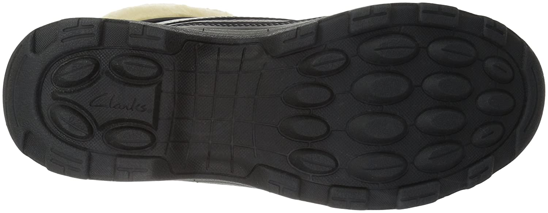 CLARKS Calf Women's Emslie Sinai Wide Calf CLARKS Riding Boot B01MR56N7R 9.5 W US|Black Leather 504172