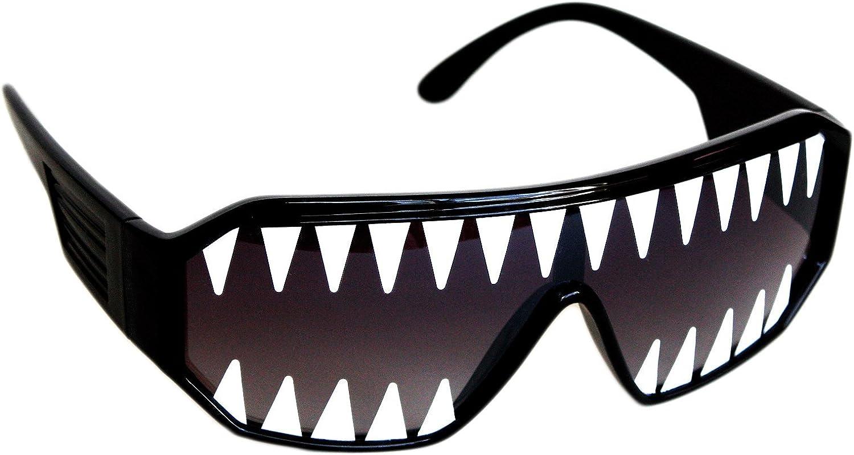 Rasslor Mini Shark Teeth Shield 140mm Sunglasses