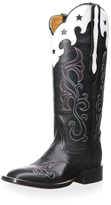 Women's Scallop Top Star Western Boot