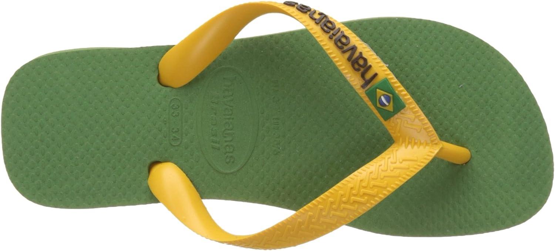 Tongs Mixte Adulte Multicolore P/ÉTROLE Havaianas Brasil Logo ,35//36