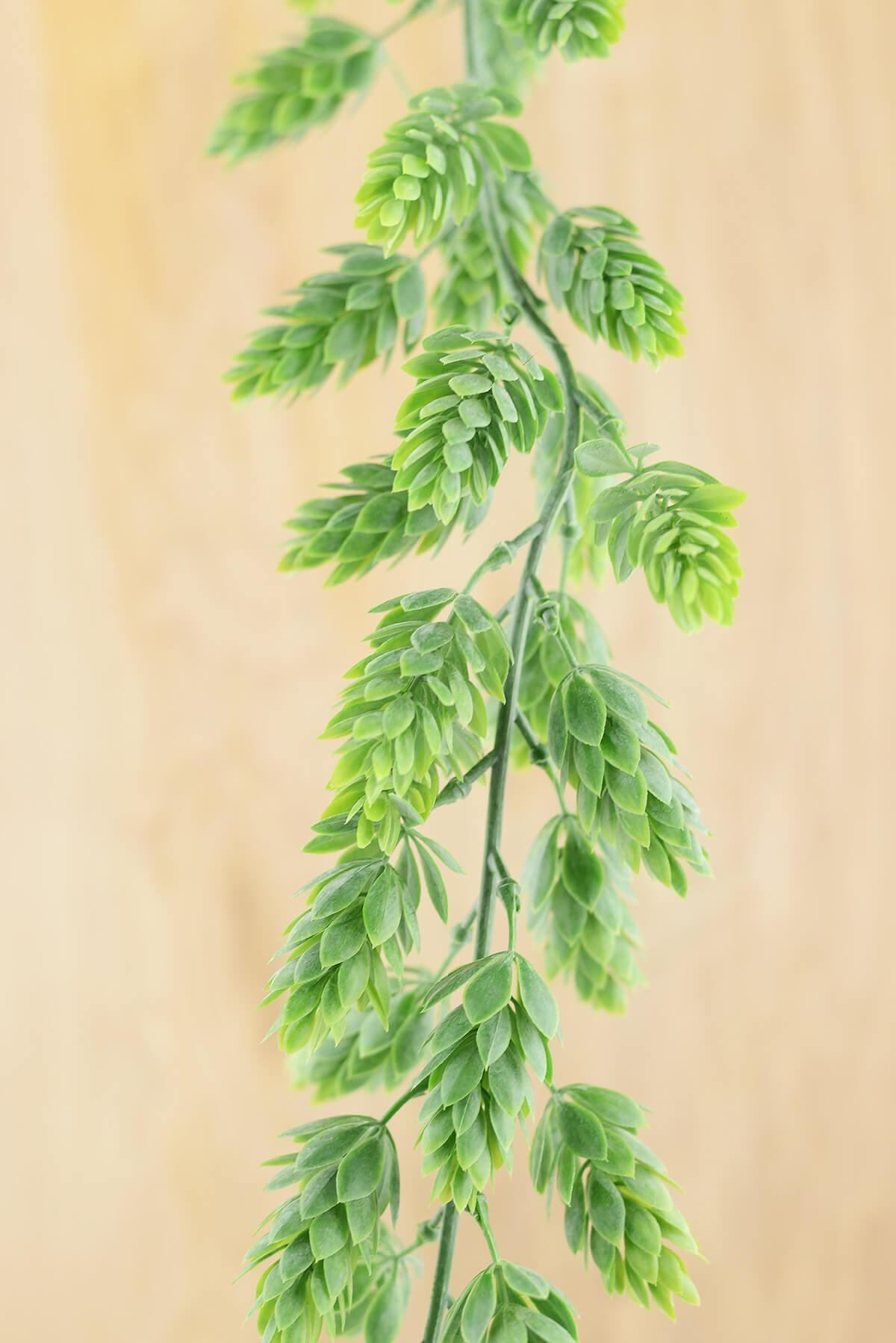 Richland Hops Garland Frosted Green 6' Artificial Set of 6