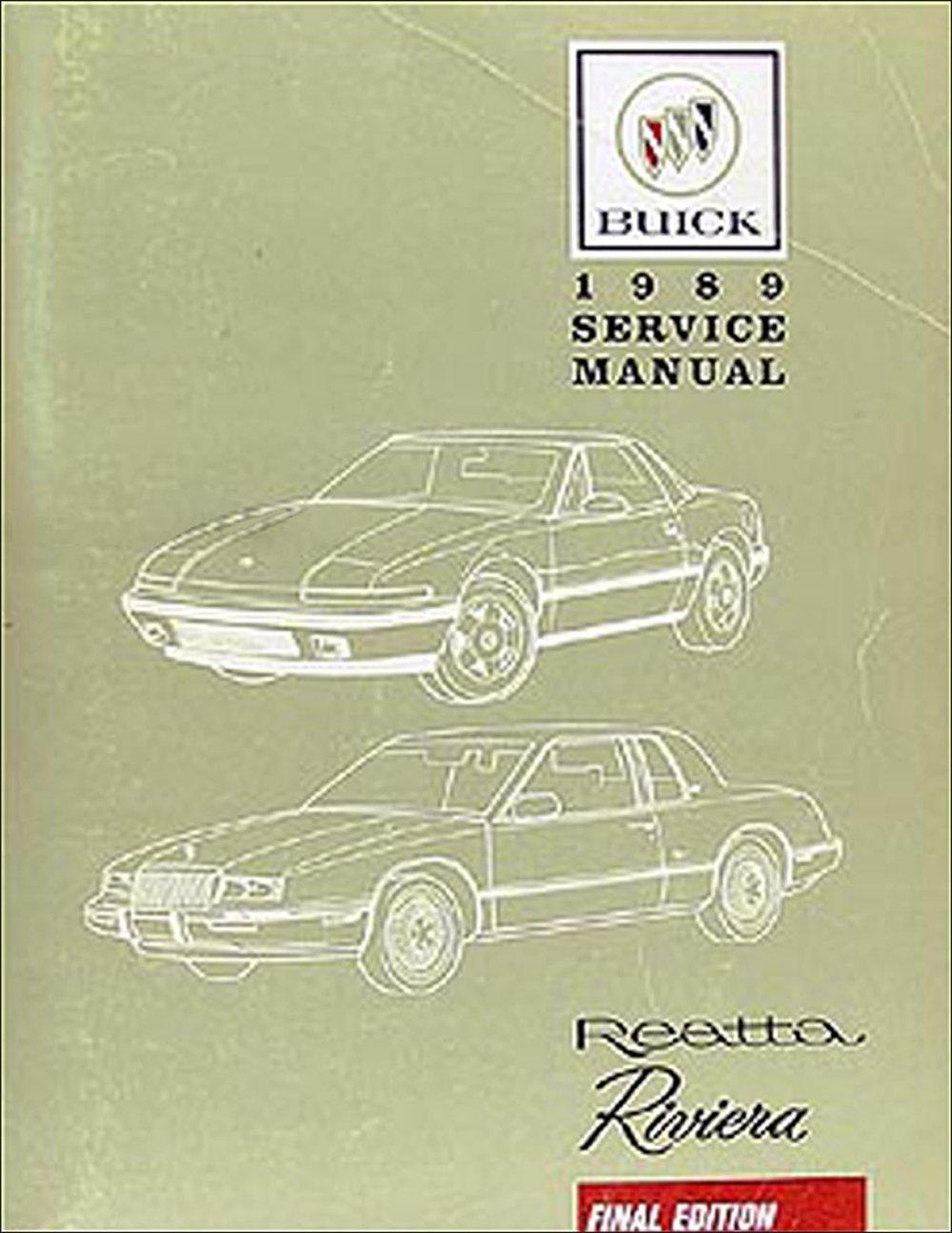 1989 buick riviera reatta repair shop manual original buick 1989 buick riviera reatta repair shop manual original buick amazon books publicscrutiny Images