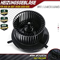 Ventilador interior de ventilador de calefacción motor
