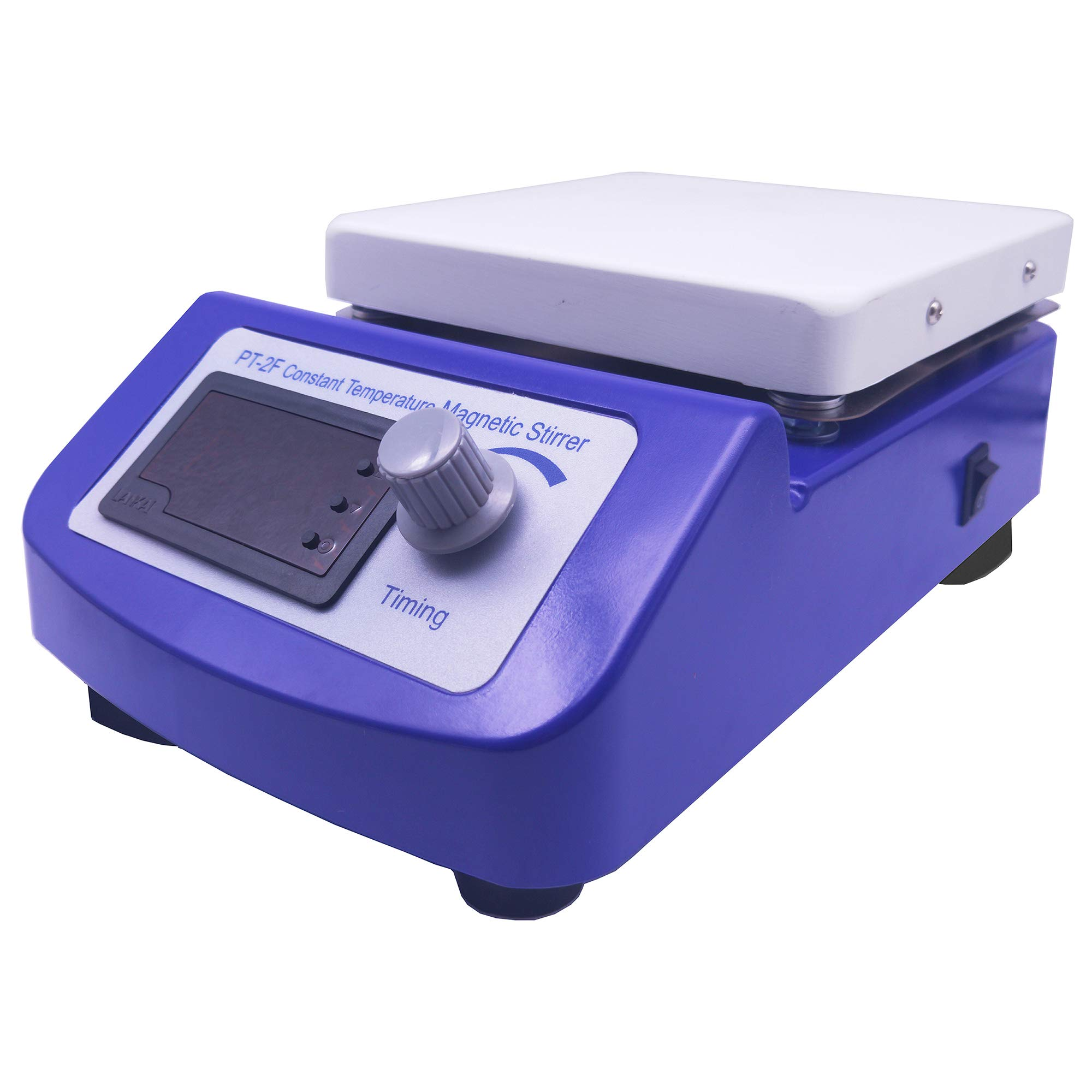 Digital Magnetic Stirrer Hot Plate Constant Temperature Control with Temperature Sensor and Stir Bars by LLLAB (Image #6)