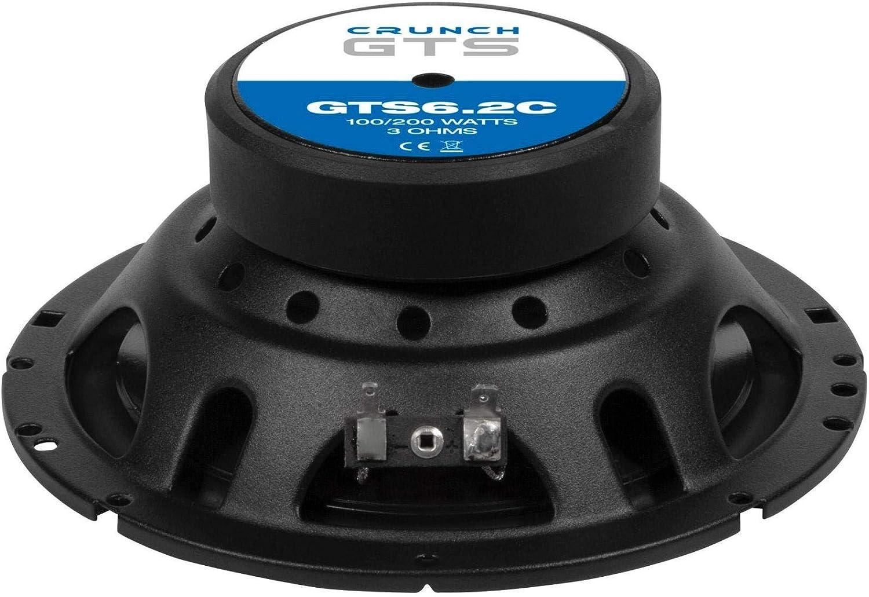 Crunch Gts6 2c 16cm 2 Wege System Lautsprecher Gts 6 2c Navigation