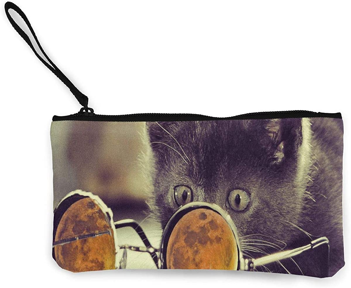 Coin Purse Cool Cat Glass...