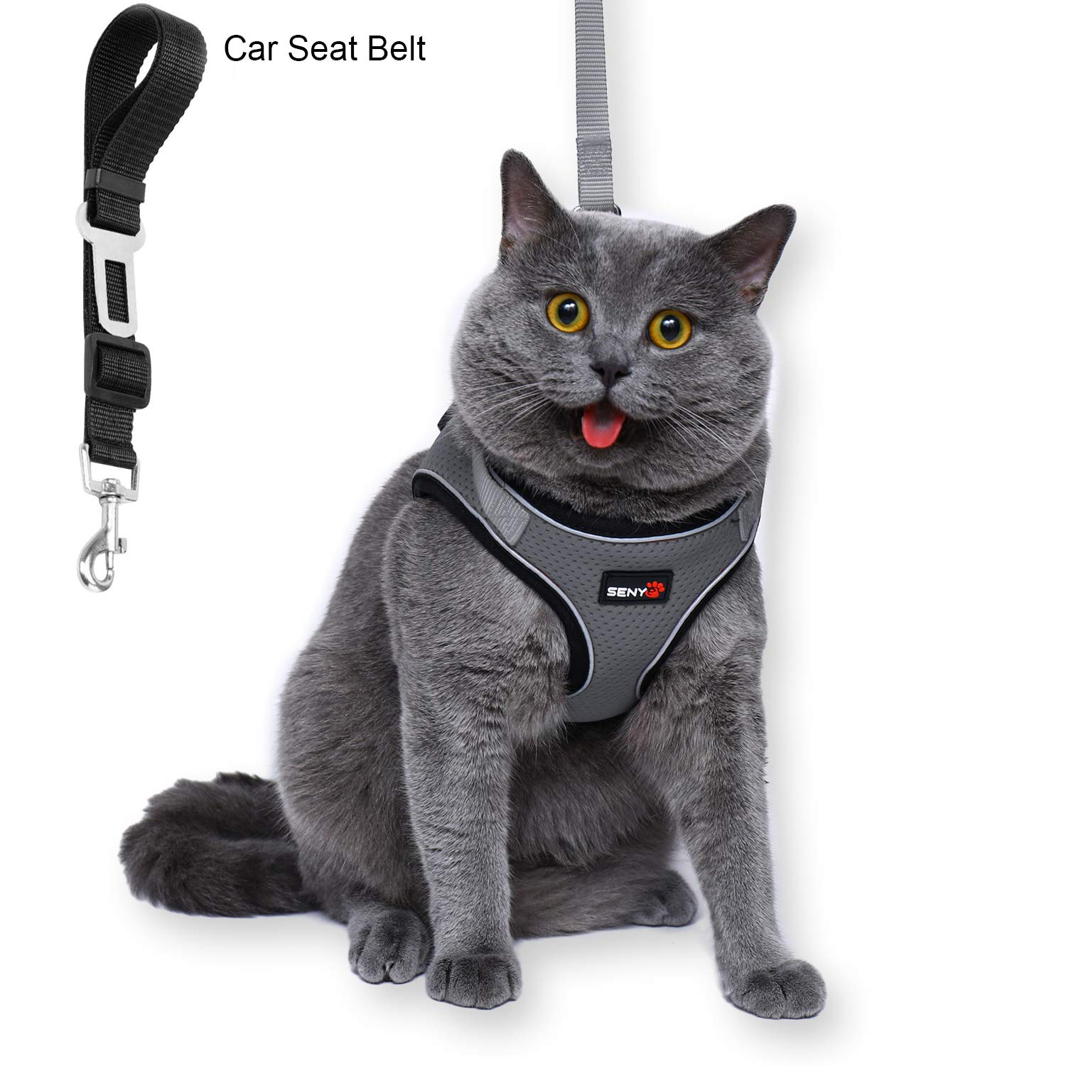 1. Fuleier Cat Harness and Leash