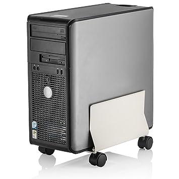 Halter Soporte de CPU de Metal Universal de LZ-402 Caso Caddy con Anchura Ajustable y 4 balanceo Ruedas: Amazon.es: Electrónica