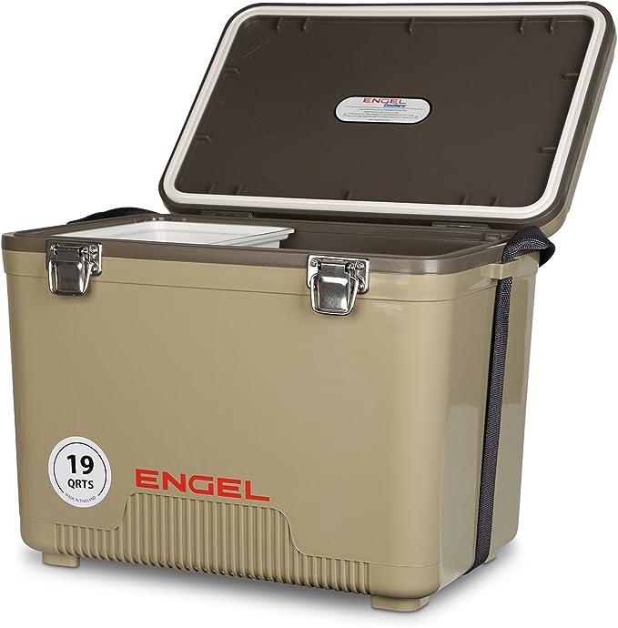 Engel UC19T Dry Box//Refroidisseur 19 QT Tan