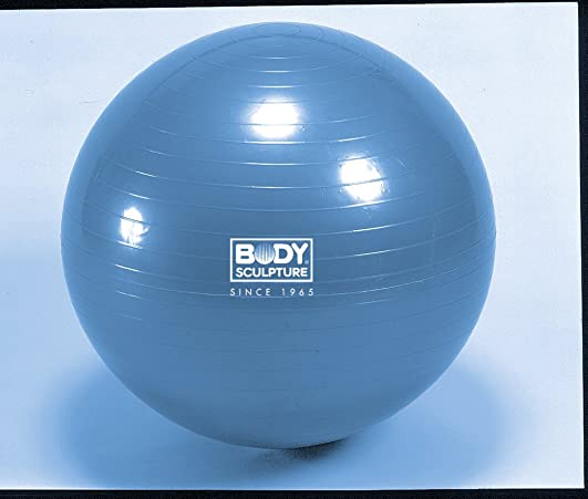 Body Sculpture 65cm 26 Anti Burst Blue Exercise Gym Ball