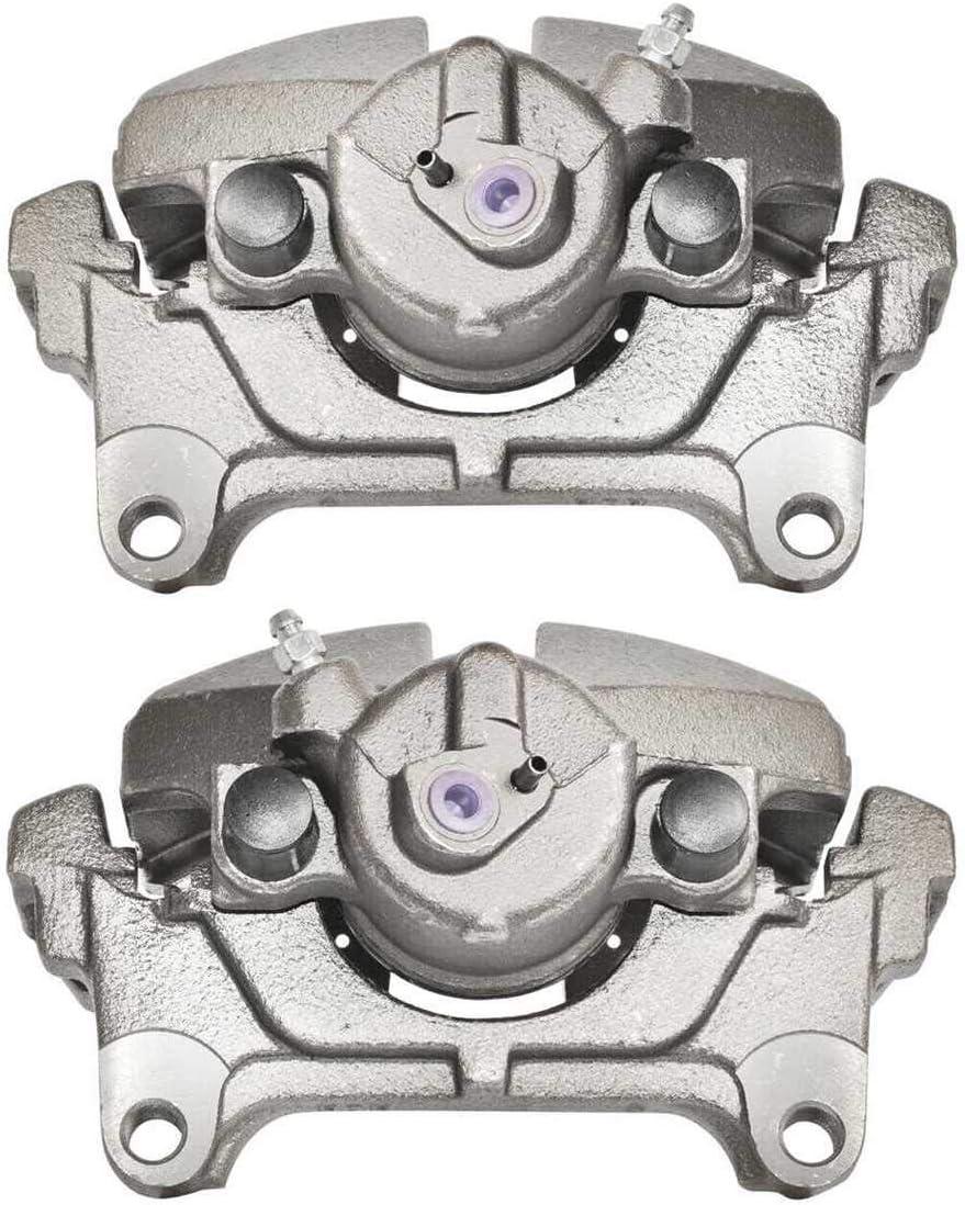 AutoShack BC292976APR Front Disc Brake Caliper Pair
