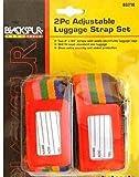 Blackspur BB-BD330 Adjustable Luggage Strap Set
