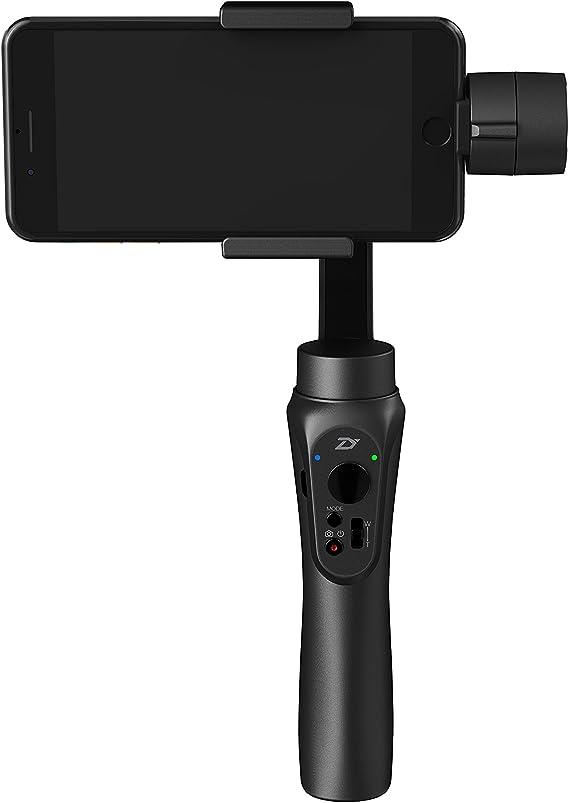 Zhiyun Smooth Q - Estabilizador de 3 ejes con control motor para smartphone de hasta 6, Negro, [Versión española]: Amazon.es: Electrónica