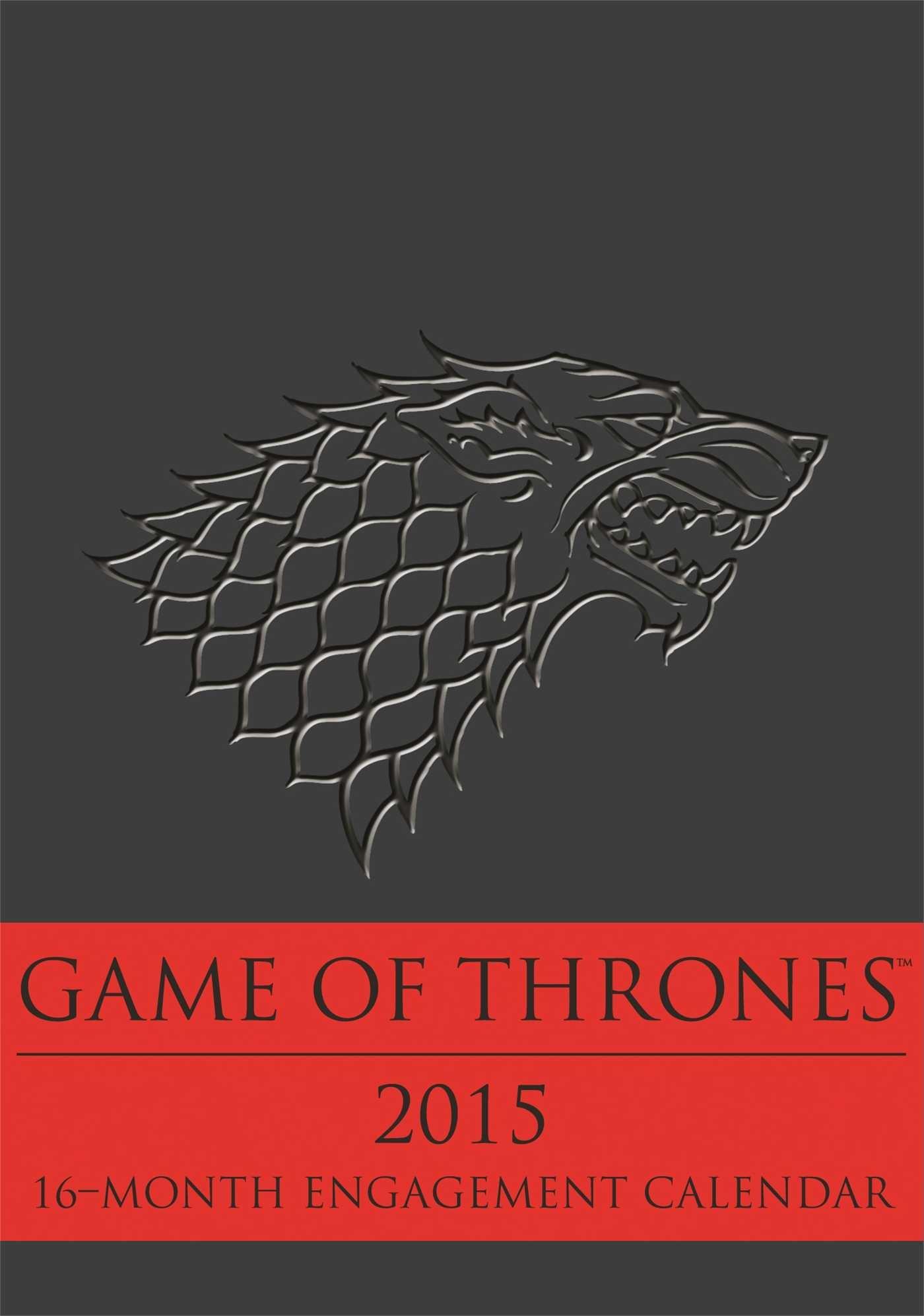 Game of Thrones 2015 16-Month Engagement Calendar: Amazon.es ...
