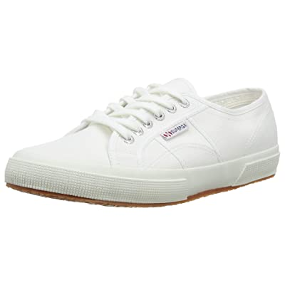 Superga 2750 Cotu Classic, Unisex Adults' Low-Top Sneakers, White, 8.5 UK (42.5 EU) | Fashion Sneakers