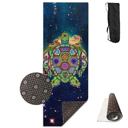 Amazon.com : Trippy Ocean Turtle Yoga Mat Towel For Bikram ...