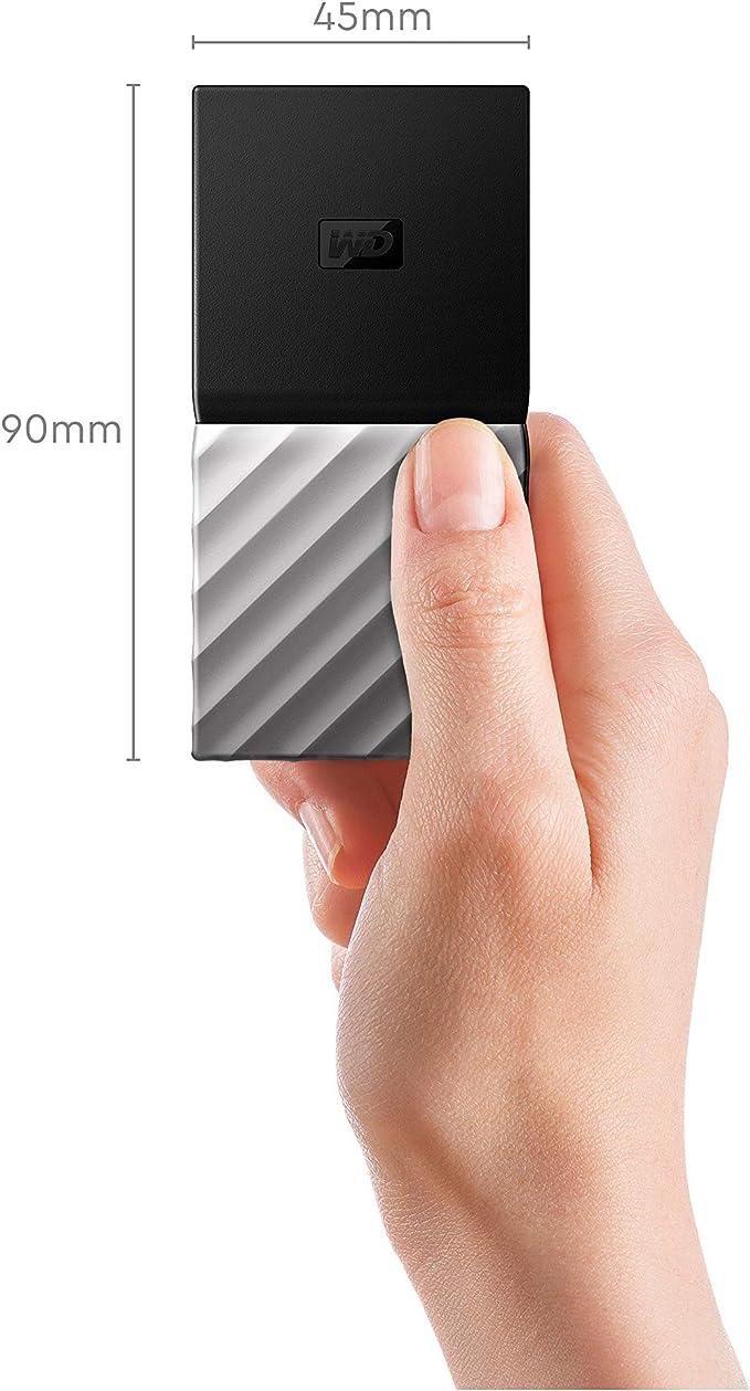 WD My Passport SSD, Almacenamiento portátil de 512GB, Color Negro ...