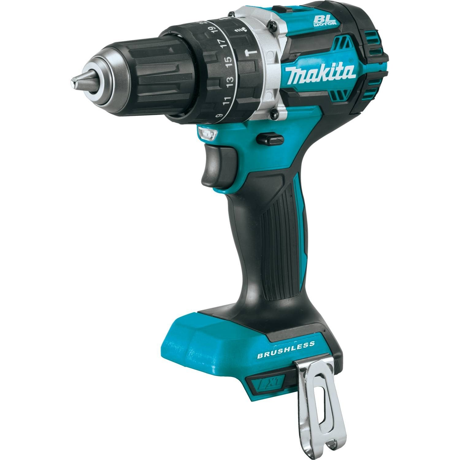 Makita XPH12Z 18V LXT Lithium-Ion Brushless Cordless 1/2'' Hammer Driver-Drill, Tool Only