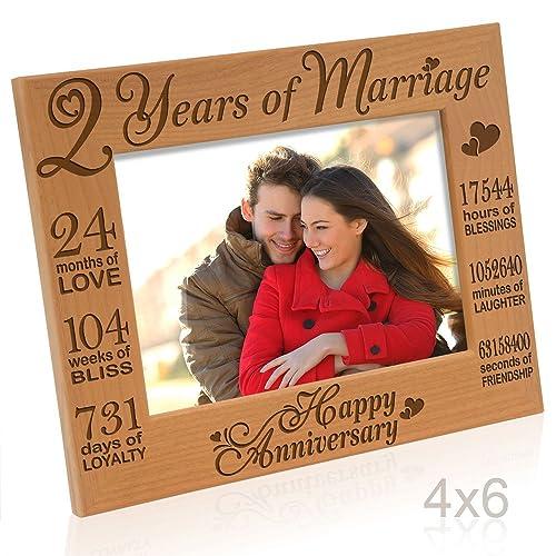 2 Year Wedding Anniversary Ideas For Him: 2nd Anniversary Gifts: Amazon.com