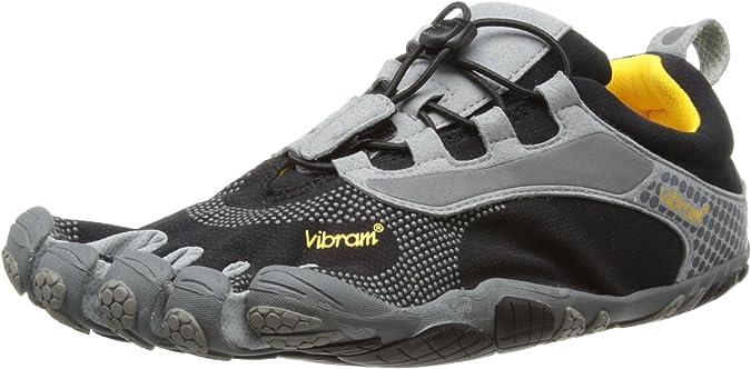 Zapatos 5 Dedos Vibram Fivefingers Bikila LS Negro/Gris (Talla 45 - Grey): Amazon.es: Zapatos y complementos
