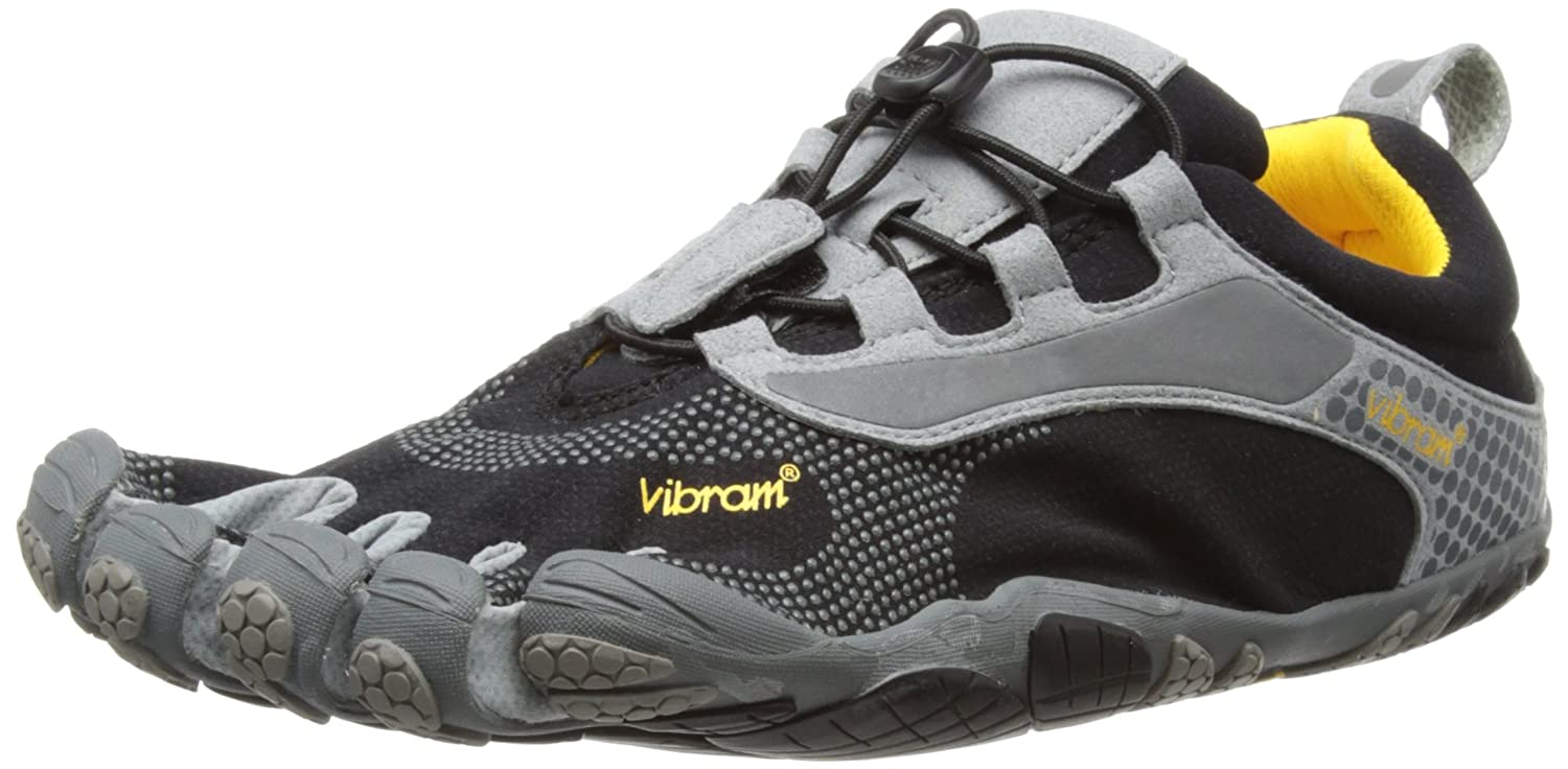 super popular 74711 03b05 Vibram 5 Fingers Men s Bikila LS M Running Shoes, Black Grey, 12 UK   Amazon.co.uk  Shoes   Bags