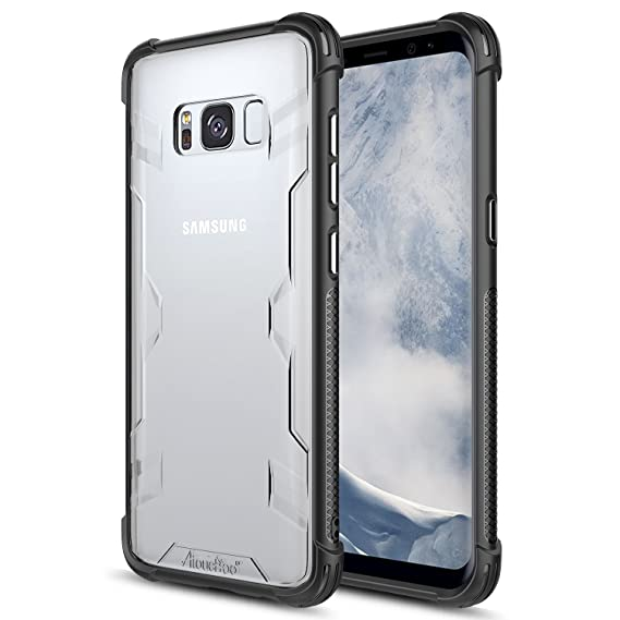 the latest f731a 63e44 Atouchbo case Compatible for Galaxy S8 Plus,[Shock Reduction] Reinforced  Corner TPU Bumper+Hard PC Back Cover Military Grade Extreme Drop Tested  Heavy ...
