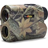 BIJIA Hunting Rangefinder - 6X 650/1200Yards Multi-Function Laser Rangefinder for Hunting,Shooting, Golf,Camping with Slope C