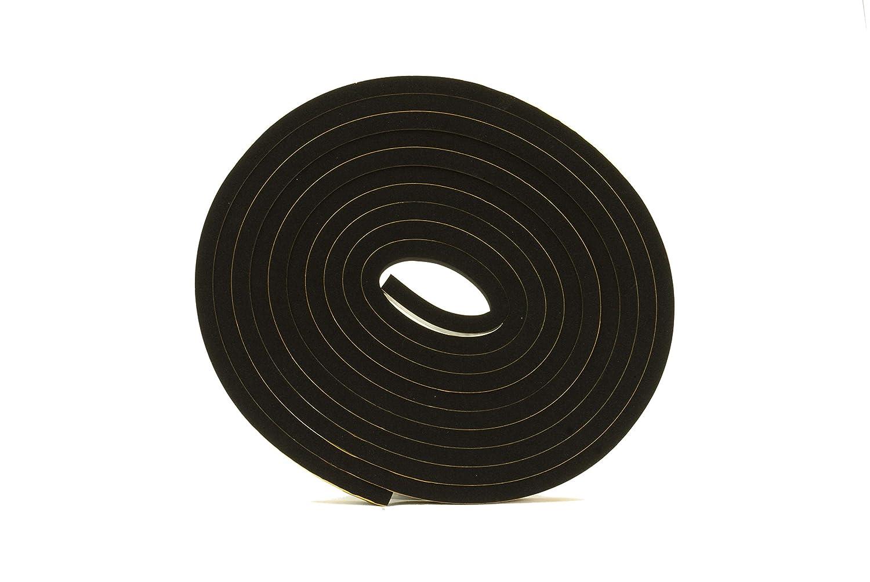 Rouleau de caoutchouc Neoprene auto-adhesiv; Longueur 10m,Largeur 10mm Epaisseur 10mm