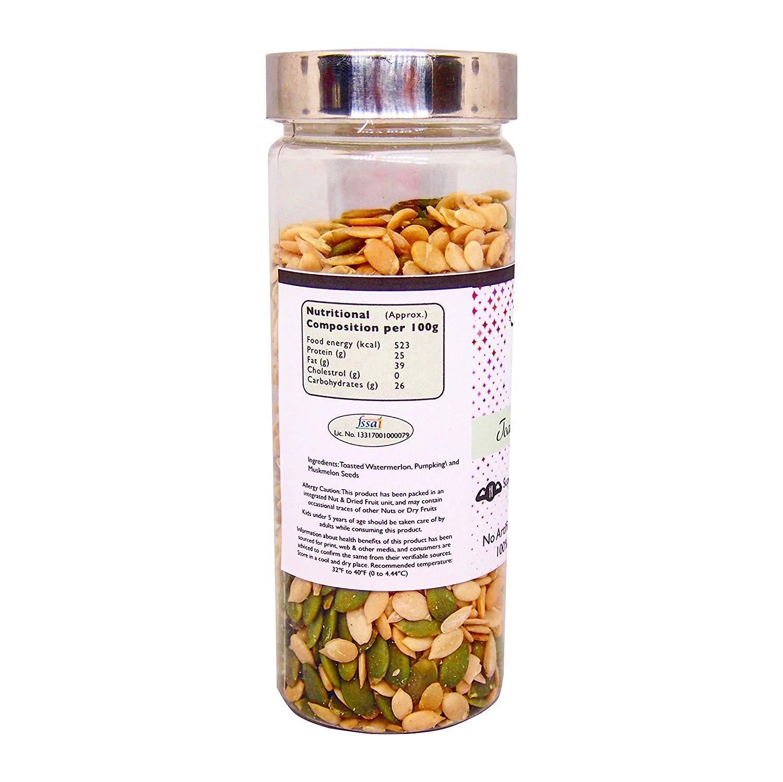 Mezcla de semillas tostadas 150 g (5.29 oz), calabaza ...